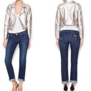 Hudson Bacara Straight Flood Cuff Jeans